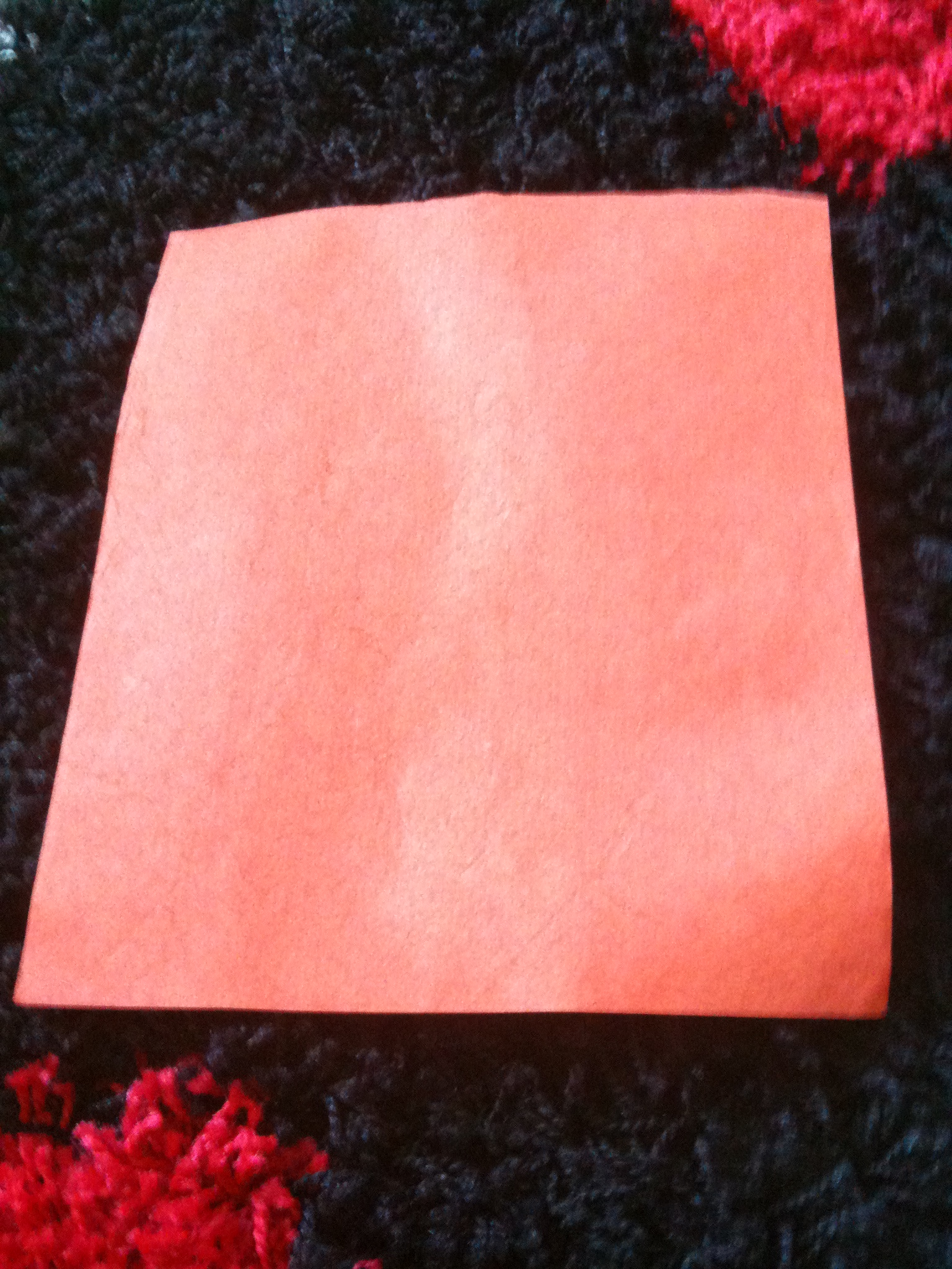 Papier Flash Premium Orange de 25 x 20 cm